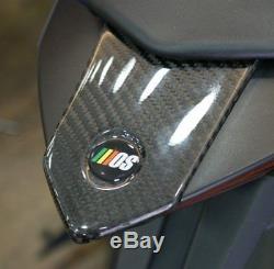 Mos Yamaha Yzf-r3 R25 Feu Arrière Revêtement Supérieur En Fibre De Carbone Twill Livraison Gratuite