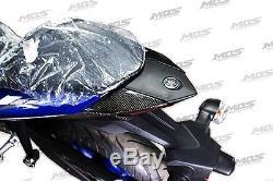 Mos Yamaha Yzf-r3 R25 Taillight En Coton Supérieur Carbon Fiber Twill Livraison Gratuite