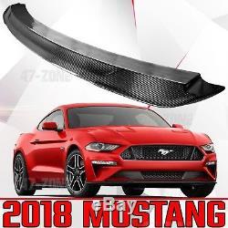 Nouvelle Aile De Spoiler Arrière De Fibre De Carbone Véritable Pour 2018 Ford Mustang Shelby Gt 350 550