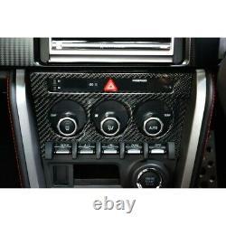 Panneau De Contrôle Climatique En Fibre De Carbone Toyota 86 Fr-s, Subaru Brz Twill Carbon