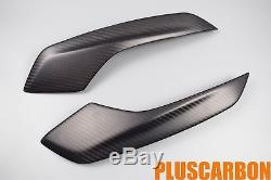 Panneaux Latéraux De Queue Ducati Hypermotard Hyperstrada 821 939 Twill En Fibre De Carbone Mat