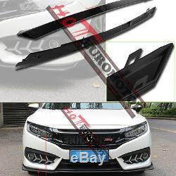 Pare-chocs En Fibre De Carbone Twill Grille Avant Pour Honda CIVIC Si 10 16 17 18