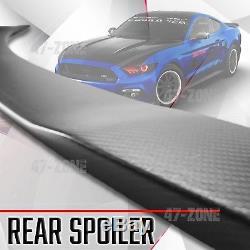Pour 2015-2017 Mustang Real Spoiler Coffre Arrière En Fibre De Carbone
