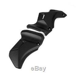 Pour Kawasaki Z900rs Direction Side Bar Couvre 100% En Fibre De Carbone Twill Matte