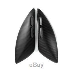 Pour Kawasaki Z900rs Les Panneaux Latéraux Couvrent 100% Fibre De Carbone Twill Matte
