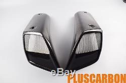 Prises D'air Yamaha Mt-01 2006-2010 Prises D'air En Fibre De Carbone Twill Glossy