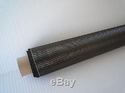 Real 2x2 Sergé Tissu De Fibre De Carbone Tissu 10 Mètres