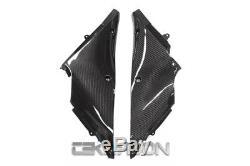 Sergé Intérieur De Fibre De Carbone De Panneaux De Fibre De Carbone De Kawasaki Ninja Zx14r 2012 2016