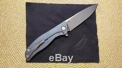 Shirogorov Hati R Bleu Fibre De Carbone Sergé M390 Mrbs