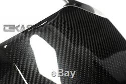Siège De Capot En Fibre De Carbone Kawasaki Ninja Zx14r 2012 2016 2x2 Sergé