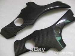 Suzuki Hayabusa 1999-2007 Twill Carbon Fibre Frame Covers