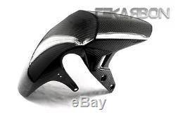 Tissage En Serpentin 2x2 En Fibre Avant En Fibre De Carbone Suzuki Gsr 750 2014