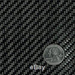 Tissu De Fibre De Carbone 3k 5.7oz. X 50 Armure Sergé 2x2 (284) - Rouleau De 10 Verges