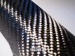 Tissu De Fibre De Carbone Tissu 50 '' 5 Yards 2x2 Sergé Kit D'armure Avec 1 1/2 Résine