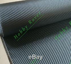 Tissu De Réglage De Qualité Commerciale 40 X 10yd En Fibre De Carbone Tissu 2x2 Twill 3k 5,9 Oz