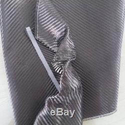 Tissu De Réglage De Tissu En Fibre De Carbone 40 X 10yd De Qualité Commerciale 2x2 Twill 3k 5.9oz