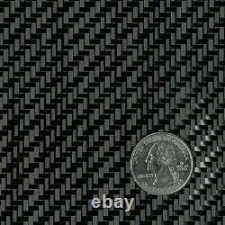 Tissu En Fibre De Carbone 3k 5.7oz. X 50 2x2 Twill Weave (284)- Rouleau De 10 Verges