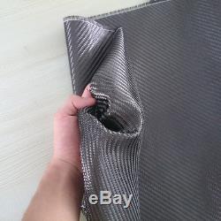 Tissu En Fibre De Carbone En Tissu 2x2 Twill 3k 5.9oz / 200gsm Commercial Grade