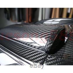 Tissu Véritable De Tissu De Fibre De Carbone 12k 2x2 Twill 42''x 4yards Et Résine Époxyde