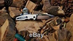 Tolérance Zéro Zt0393 Argent Twill Carbone Balances Fibre (couteau Non Inclus)