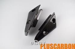 Vitesse Triumph Triple 1050 2011-2013 Fender Caches Latéraux En Fibre De Carbone Sergé Brillant