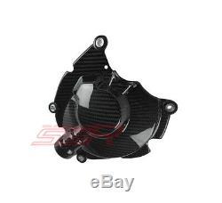 Yamaha R1 R1m R1s Fz10 Mt10 Twill Fibre De Carbone Du Moteur D'embrayage Case Guard Cover